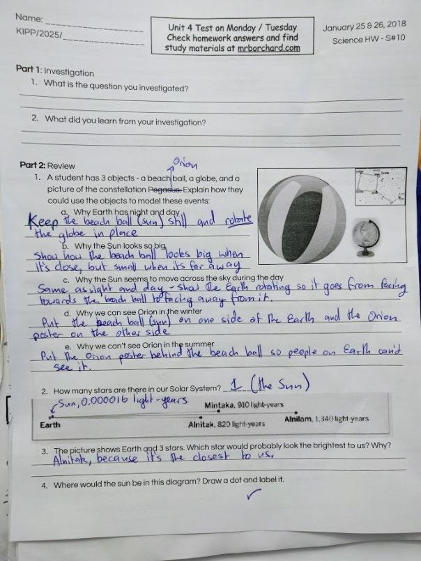 Homework & Quiz Review 1/25 & 1/26 | Mr  Borchard's 6th Grade Math Class