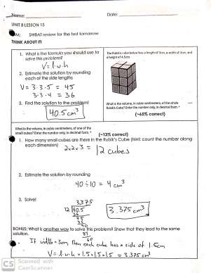 Homework and Test Review | Mr  Borchard's 6th Grade Math Class